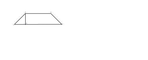 problema rezolvata trapezul isoscel