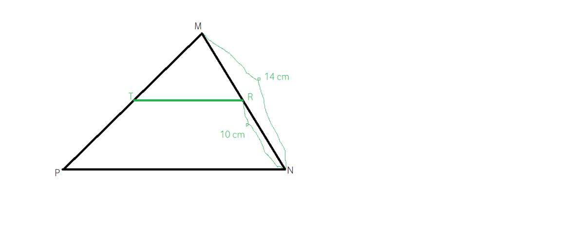 Teorema lui Thales aplicatie