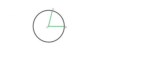 masura in grade a unui arc de cerc