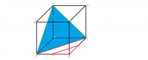 aria laterala aria totala si volumul unui cub
