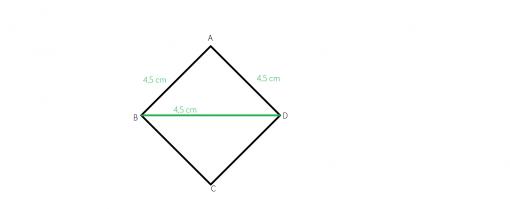 unghiurile unui romb