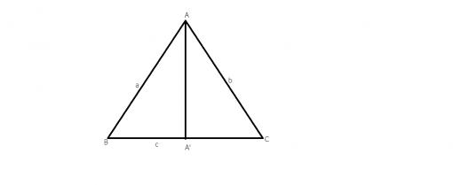 cum calculam aria unui triunghi oarecare