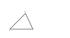 cum arata un triunghi ascutitunghic