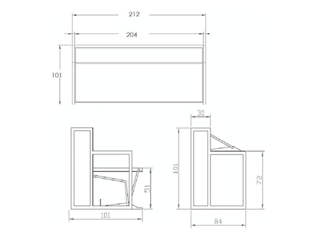 Misure letto singolo doppio letto singolo estraibile a