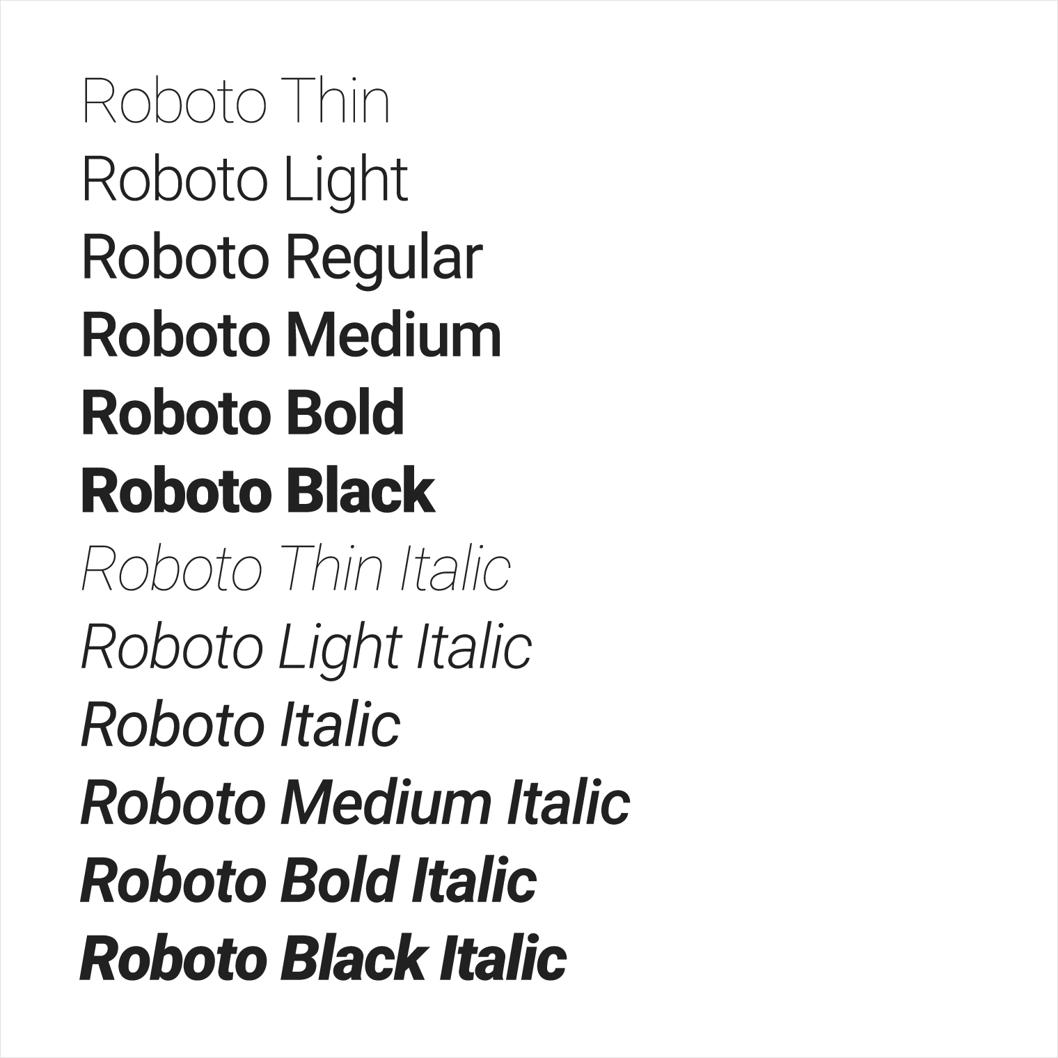 Roboto font weight look wrong? : webdev
