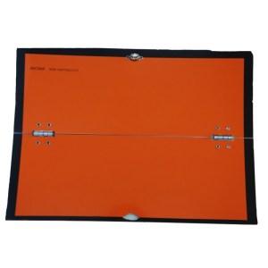 Panel naranja ADR plegable horizontal
