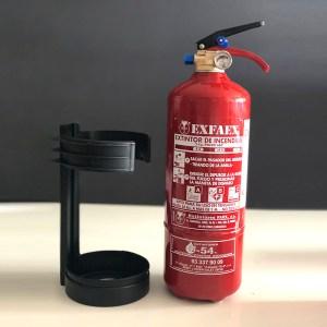 Extintor 2KG de polvo ABC