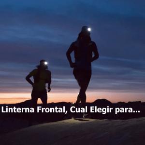 Linterna frontal