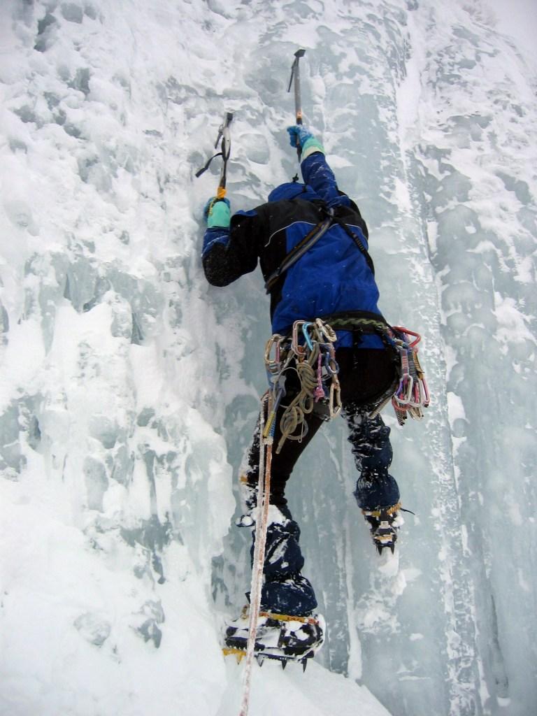 Escalada hielo