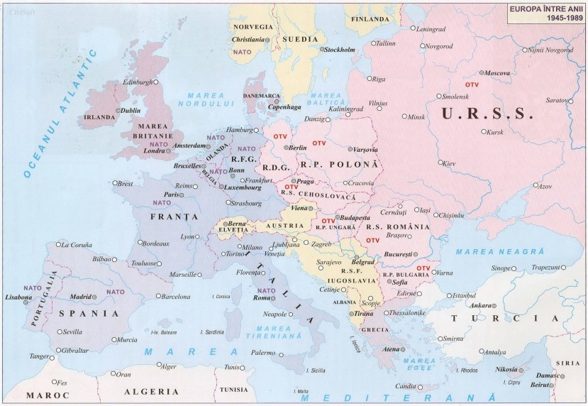 020. EUROPA INTRE ANII 1945 - 1989