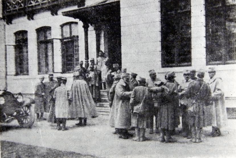 1916_-_Sediul_Marelui_Cartier_General_de_la_Peris