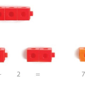 Cuburi colorate asamblabile 100 buc. 30