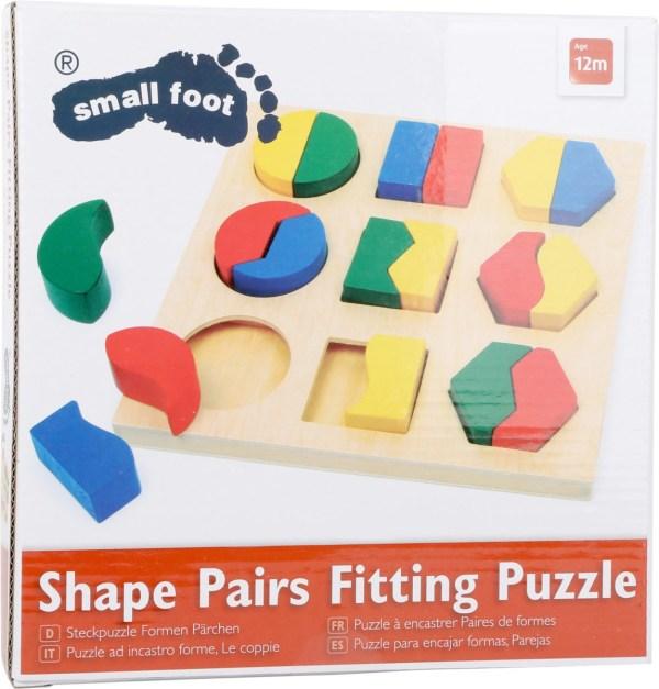 Puzzle, cutie identificarea formelor 4