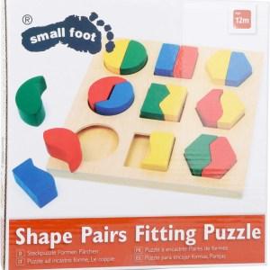 Puzzle, cutie identificarea formelor 5