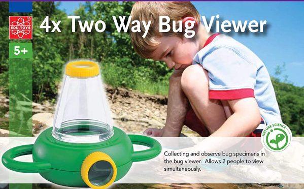 Lupa vizor pentru studierea insectelor 16