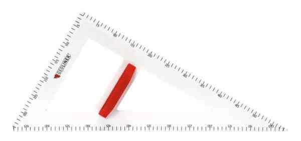 Echer de 60° pentru tabla scolara 3