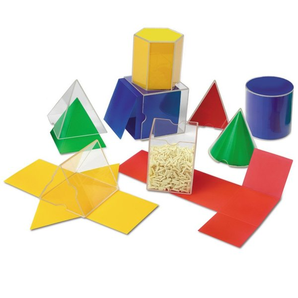 Set corpuri geometrice / forme desfasurate 3