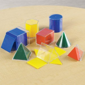 Set corpuri geometrice / forme desfasurate 13