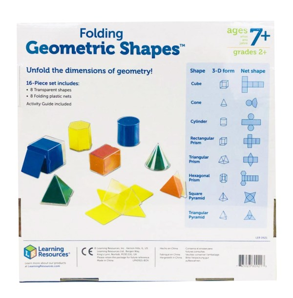 Set corpuri geometrice / forme desfasurate 10