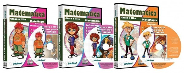Pachet Matematica clasa a III-a 3