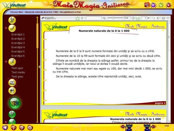 Pachet Matematica clasa a III-a 6