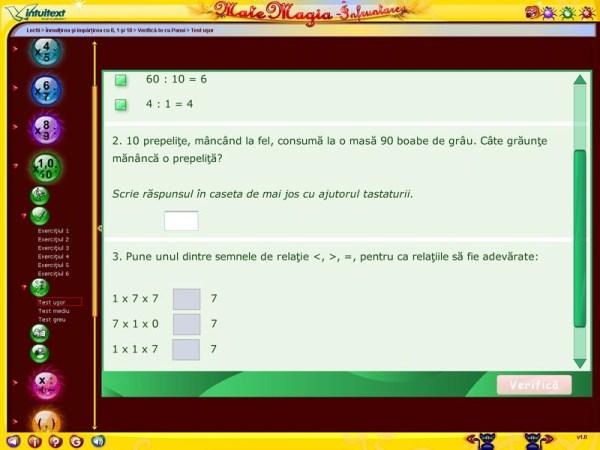 Pachet Matematica clasa a III-a 11