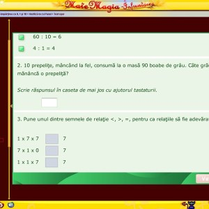 Pachet Matematica clasa a III-a 27