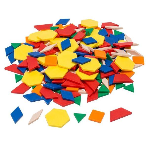 Forme geometrice plane, 250 piese 4