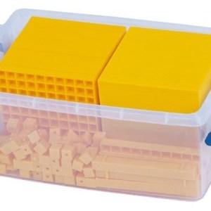 Sistemul zecimal - cuburi baza 10 interconectabile 24