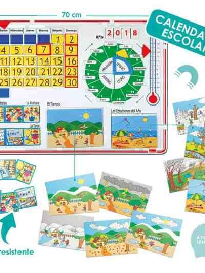 Calendar scolar magnetic