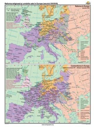 Reforma religioasa si urmarile sale in Europa (secolul XVI-XVII)