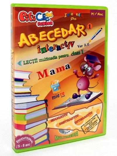 ABECEDAR INTERACTIV - Lectii multimedia pentru clasa I - partea I