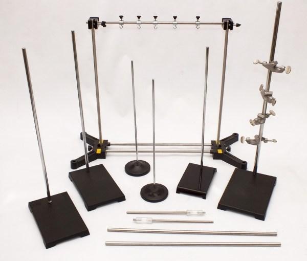Set de stative pentru experiente de fizica si chimie, 33 de piese 4