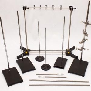 Set de stative pentru experiente de fizica si chimie, 33 de piese 6