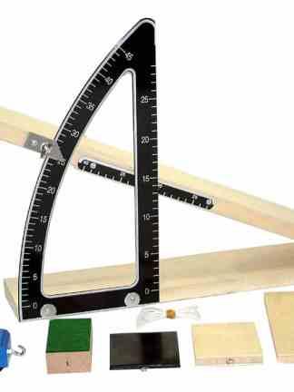 Model de plan inclinat cu unghi variabil
