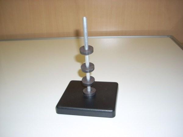 Set de inele magnetice pe stativ 3