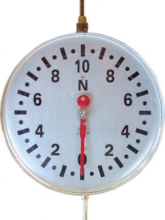Dinamometru cu scala circulara