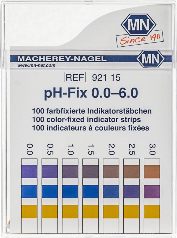 Benzi test pentru determinarea pH-ului 5