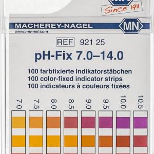 Benzi test pentru determinarea pH-ului 11