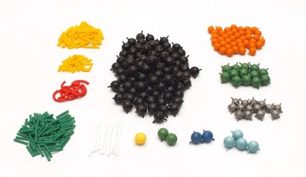 Set pentru modele moleculare de substante organice, anorganice si modele de retele cristaline 4