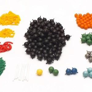 Set pentru modele moleculare de substante organice, anorganice si modele de retele cristaline 9