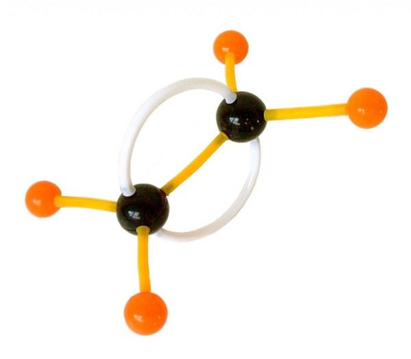 Set pentru modele moleculare de substante organice, anorganice si modele de retele cristaline 6