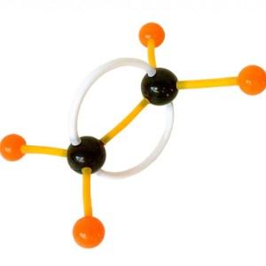 Set pentru modele moleculare de substante organice, anorganice si modele de retele cristaline 11