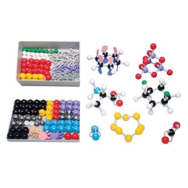 Set pentru modele moleculare de substante organice, anorganice 7