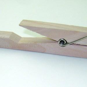 Clema de prins eprubete - lemn 11