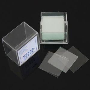 Set 100 lamele pentru microscop 11