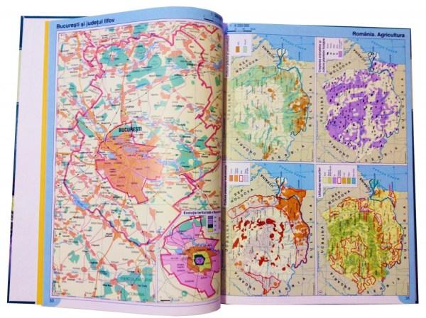 Atlas geografic scolar clasele 9-12 8