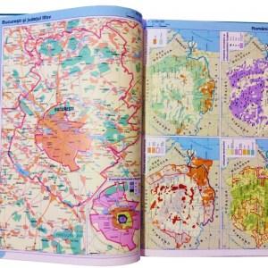 Atlas geografic scolar clasele 9-12 13