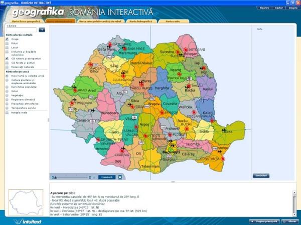 GEOGRAFIKA - Romania interactiva 6