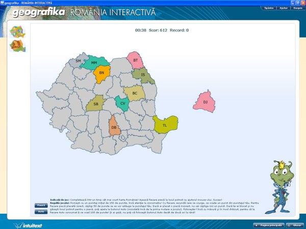 GEOGRAFIKA - Romania interactiva 3